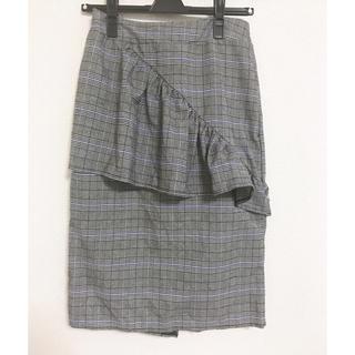 snidel - フリルタイトスカート