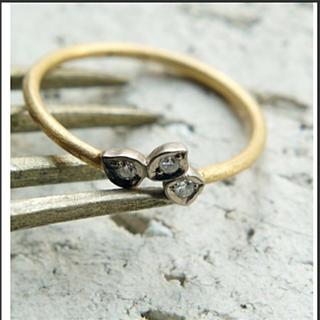 H.P.FRANCE - ギクラ giclat ダイヤモンドリング  YG WG