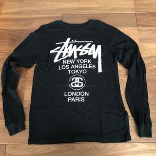 STUSSY - Sサイズ STUSSY WORLD TOUR 長袖Tシャツ ロングスリーブ