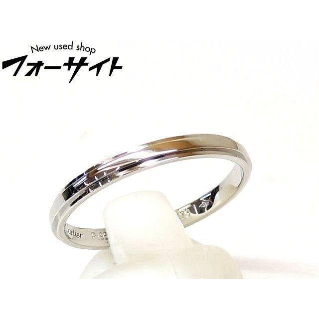 Cartier(カルティエ)のカルティエ■B4094062 プラチナ Pt950 ダムール ウェディング 指輪 メンズのアクセサリー(リング(指輪))の商品写真