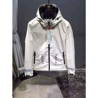 オフホワイト(OFF-WHITE)のOFF-WHITE メンズ ジャケット XLサイズ(ナイロンジャケット)