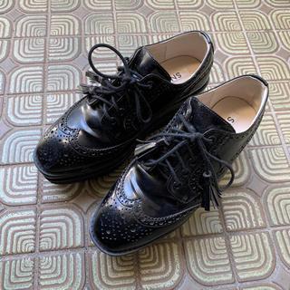 snidel - スナイデル フラットシューズ ブラック 靴
