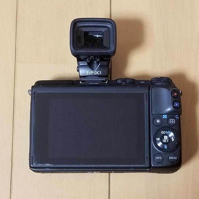 Canon(キヤノン)のCanon EOS M3 EVF-DC1 スマホ/家電/カメラのカメラ(ミラーレス一眼)の商品写真