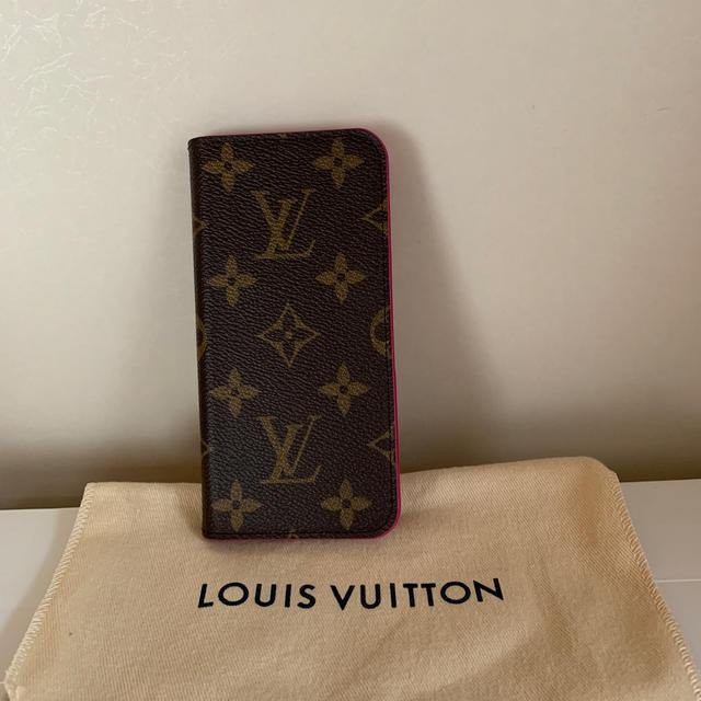 LOUIS VUITTON - ルィビトン iPhone 7ケース 手帳型 美品^_^の通販