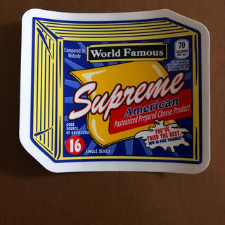シュプリーム(Supreme)のシュプリーム ステッカー(ノベルティグッズ)