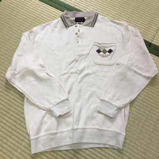 メンズ  ポロシャツ 長袖  日本製