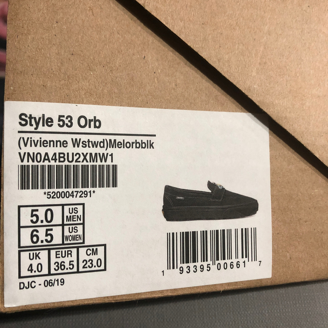 Vivienne Westwood(ヴィヴィアンウエストウッド)の新品 VANS×Vivienne Westwood  STYLE 53 ORB レディースの靴/シューズ(スリッポン/モカシン)の商品写真