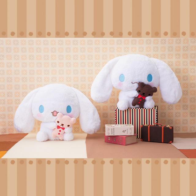 シナモロール(シナモロール)のぴゅーろ様専用 エンタメ/ホビーのおもちゃ/ぬいぐるみ(キャラクターグッズ)の商品写真