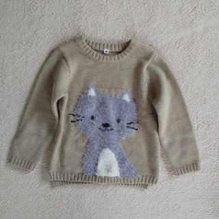 西松屋 - 西松屋 猫ちゃん セーター 95