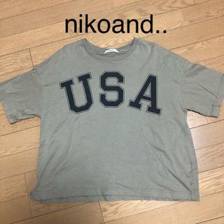 ニコアンド(niko and...)のnicoand.. Tしゃつ(Tシャツ(長袖/七分))