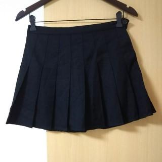 グレイル(GRL)の新品 グレイル プリーツスカート ブラック 黒 (ミニスカート)