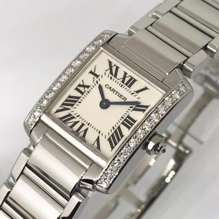 Cartier - ★新品仕上げ済み★美品★カルティエ タンクフランセーズSM 天然ダイヤモンド