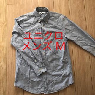 ユニクロ(UNIQLO)のユニクロ 長袖シャツ M メンズ デニムシャツ(シャツ)
