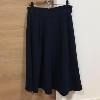 LOWRYS FARM - スカート   タックスカート   膝丈スカート