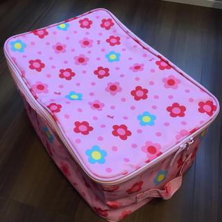 ミキハウス(mikihouse)のミキハウス ストレージボックス ピンク 花柄 収納(ケース/ボックス)