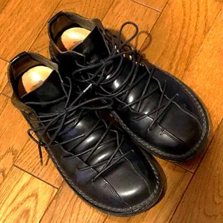 トリッペン(trippen)のさゆちゃん様専用 トリッペン 紐靴 黒 23cm位(ローファー/革靴)