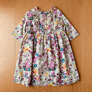 ボンポワン(Bonpoint)のBonpoint ボンポワン フラワー ドレス MUSETTE 4(ワンピース)