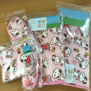 SNOOPY - スヌーピー  トイレ用品 4点セット
