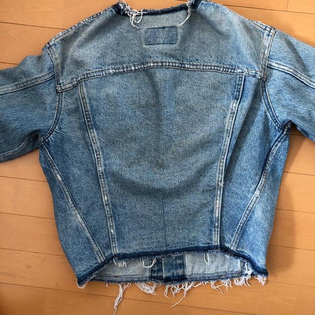 Levi's(リーバイス)のREDONE リダン levi's  デニムジャケット レア レディースのジャケット/アウター(Gジャン/デニムジャケット)の商品写真