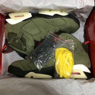 NIKE - AIR JORDAN 6 TRAVIS SCOTT 26.5cm