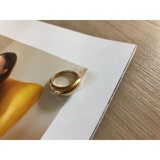 ゴールド太リング(リング(指輪))