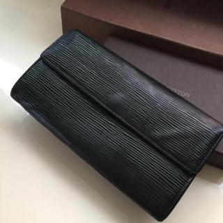 LOUIS VUITTON - 正規品ルイヴィトンエピブラック長財布