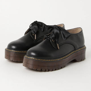 ダブルクローゼット(w closet)の厚底レースアップシューズ(ローファー/革靴)