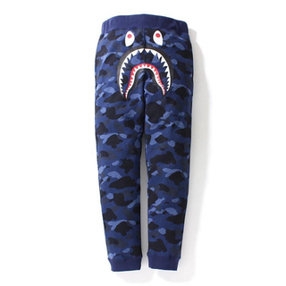 A BATHING APE - BAPE COLOR CAMO SHARK LONG PANTS
