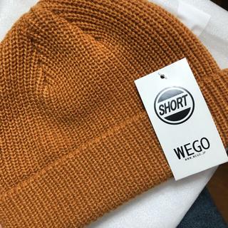 ウィゴー(WEGO)のWEGO ショートニットキャップ(ニット帽/ビーニー)