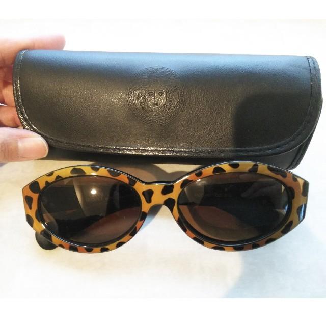 Gianni Versace(ジャンニヴェルサーチ)の【値下げ】ヴェルサーチ サングラス メンズのファッション小物(サングラス/メガネ)の商品写真