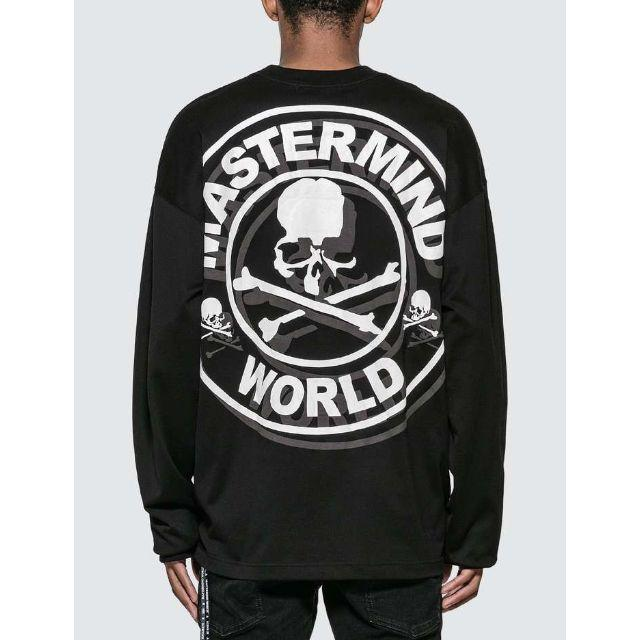 mastermind JAPAN - MASTERMIND WORLD ロゴ 長袖Tシャツの通販 by NavY&Co BLACK FRIDAY SALE