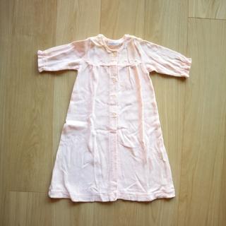 ファミリア(familiar)のfamiliar ファミリア ベビードレス ロンパース ピンク 50(セレモニードレス/スーツ)