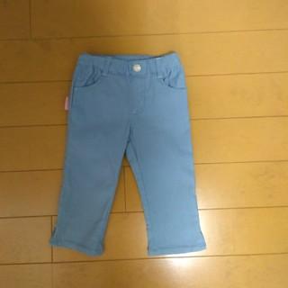 サンカンシオン(3can4on)のズボン 水色 110cm 3can4on(パンツ/スパッツ)