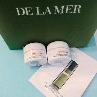 DE LA MER - ドゥラメール クリーム ソフトクリーム2個&化粧品 サンプル