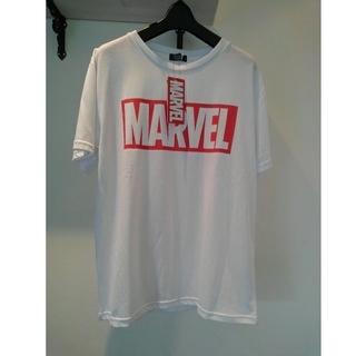 マーベル(MARVEL)の新品未使用 MARVEL Tシャツ 白 Lサイズ(Tシャツ(半袖/袖なし))