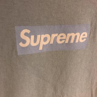 Supreme - 激レアsupreme box logo tee 2003水色
