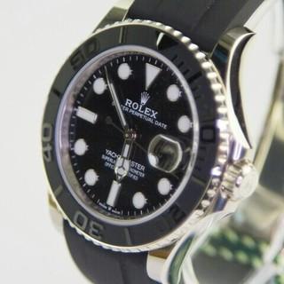 ROLEX - 本物 極美品ヨット名仕シリーズローズゴールド自動機械腕時計
