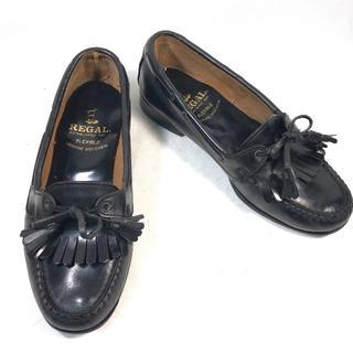 リーガル(REGAL)の【REGAL】リーガル レディース フリンジタッセルローファー 23cm(ローファー/革靴)