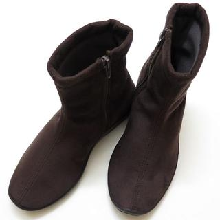 アルコペディコ(ARCOPEDICO)の【新品】 アルコペディコ ショートブーツ 36(23.5cm) ブラウン(ブーツ)