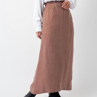 カスタネ(Kastane)のキュプラIラインスカート(ロングスカート)