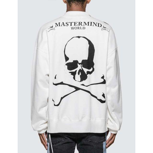 mastermind JAPAN - MASTERMIND WORLD スカル スウェットトレーナーの通販 by NavY&Co BLACK FRIDAY SALE