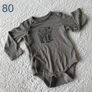 babyGap 長袖ロンパース 80