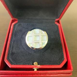 カルティエ(Cartier)のカルティエ パシャダイヤリング K18WG  美品(リング(指輪))