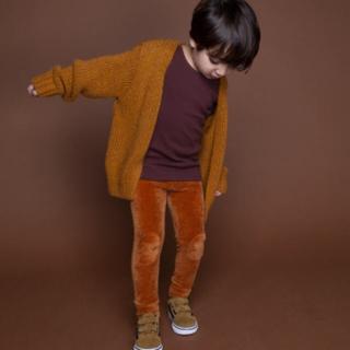 コドモビームス(こども ビームス)の4-6Y*MINGO VELVET RIB LEGGING レギンス パンツ(パンツ/スパッツ)