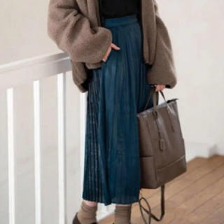 しまむら - プチプラのあや 奇跡 シャイニープリーツスカート