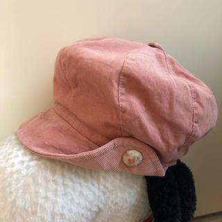 ハッシュアッシュ(HusHush)のhushush 52cm キャスケット 帽子(帽子)