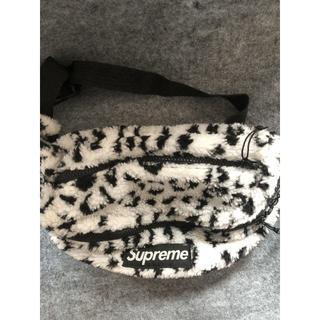 Supreme - Supreme Leopard Fleece Weist Bag