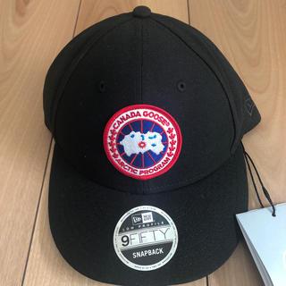 カナダグース(CANADA GOOSE)のカナダグース  キャップ帽子  レア 数量限定 メンズ フリーサイズ(キャップ)