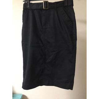 イッカ(ikka)の膝下丈のスカート(ひざ丈スカート)