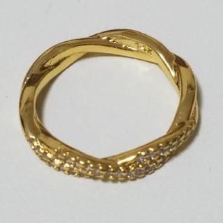 ファッションリング ゴールド #12(リング(指輪))